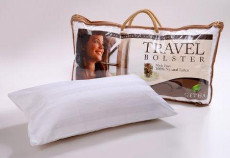 """Подушка для отдыха и путешествий из 100% природного латекса """" Travel Bolster"""""""